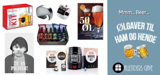 ølgaver, øl gaveideer, gaveideer til øl-elskeren, øl gavekurv, øl julegaver, øl oplevelser, øl plakater, gave til ham der har alt, gave til far, gave til farfar, gave til morfar, gave til bedstefar, klassiske gaver til ham