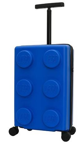 lego kuffert børnekuffert til lidt større børn lego kuffert blå lego kuffert rød legokuffert sort børnekuffert stor