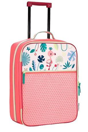 trolley til barn børnetrolley kuffert med hjul til børn lilliputiens alletidersgave rejseudstyr til børn