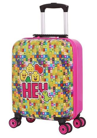 hey play date kuffert børnekuffert pige kuffert barn LEGO pink kuffert lego friends kuffert børnetrolley alletidersgave