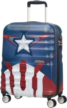 captain america kuffert barn børnekuffert marvel kuffert avengers kuffert