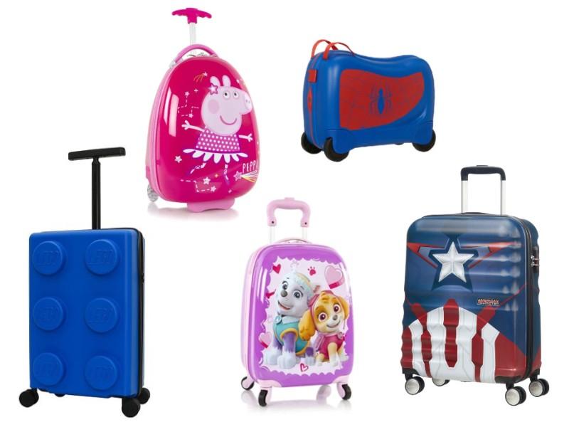 kuffert til barn rejsetaske til barn gave til 4 årige alletidersgave sommerferiegave til barn