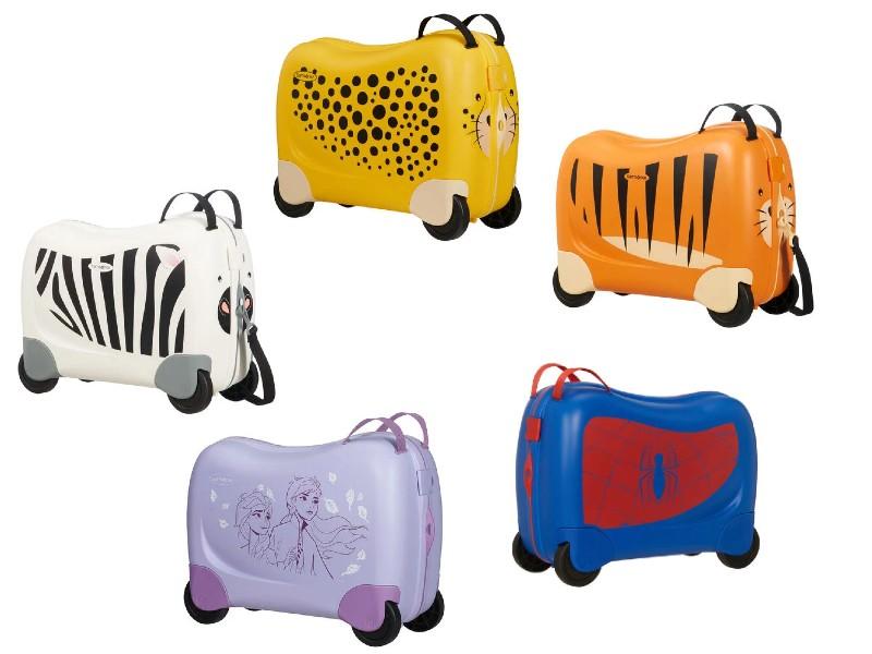 samsonite dreamrider kuffert til barn alletidersgave børnekuffert alternative til trunki spiderman kuffert frost kuffert