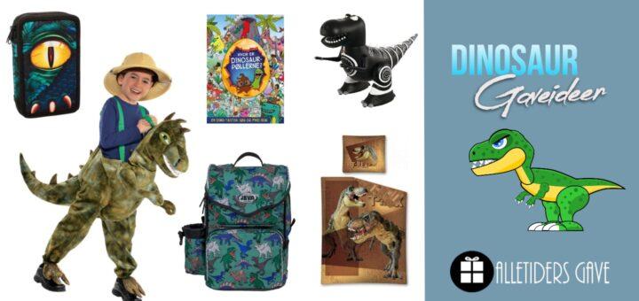 dinosaur gaveideer til børn, dinosaur gaver til børn, dinosaur gave inspiration, dinosaur julegaver til børn, dinosaur legetøj til børn